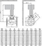 Двоходові сідельні фланцеві клапани серії H6...S DN 15...150 BELIMO для пари, фото 2