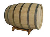 Бочка дубовая 100 литров, обруч нерж.сталь