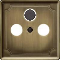 Накладка ТВ-розетки Merten System-D античная латунь
