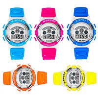 [ Часы детские Honhx S-Sport ] Спортивные кварцевые часы с подсветкой