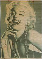 Роллет бамбуковый Мерилин Монро, стандарт