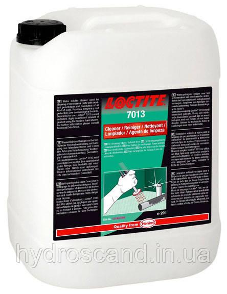 Промышленный очиститель Локтайт 7013 (Loctite 7013), для ручной мойки, 5 л