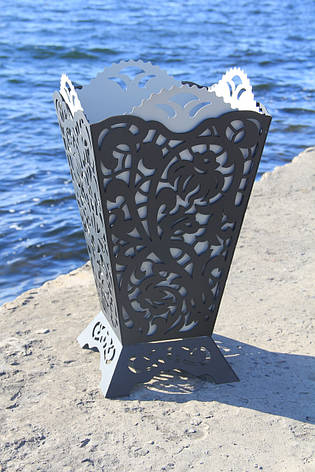 Урна садовая декоративнаяиз металла, фото 2