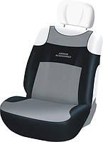 Автомобильные чехлы Sport Line на передние сиденья / цвет: серый-черный