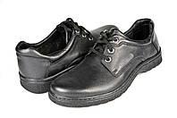 Мужские туфли mida 11782ч черные   весенние , фото 1