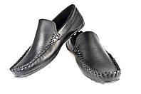 Мужские туфли кожаные  faro 10. черные   весенние , фото 1