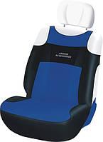 Автомобильные чехлы Sport Line на передние сиденья / цвет: синий-черный