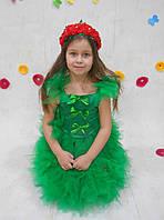 Элит карнавальный костюм роза, розочка прокат