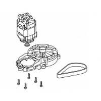 Электродвигатель в сборе для газонокосилок Gardena PowerMax 36 E