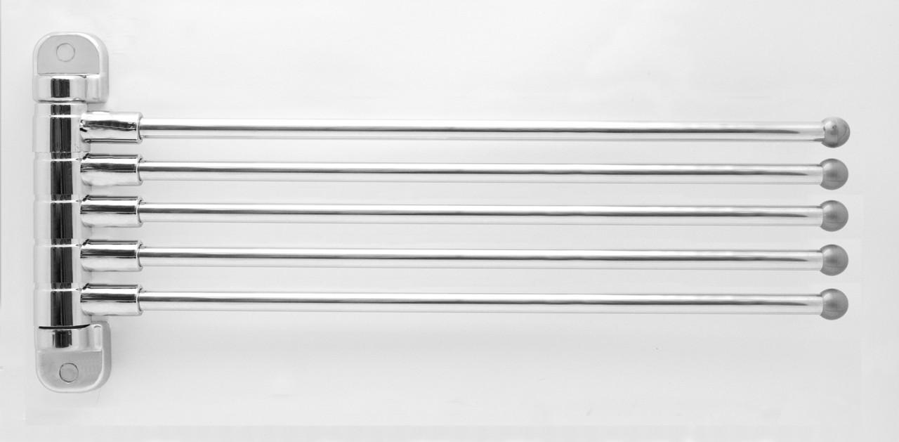 Вешалка для полотенец пятерная поворотная СА 05