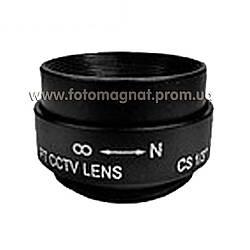 Объектив для камеры видеонаблюдения GS-М 12мм(объектив камеры)
