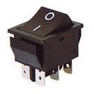 Переключатель клавишный широкий КП-45-В-220В (с возвратом)
