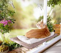 Кроватка для кошек  window mounted cat bed, фото 1