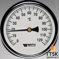 Термометр биметаллический аксиальный Watts F+R801 SD