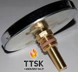 Термометр биметаллический аксиальный Watts F+R801 SD , фото 2