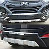 Накладки на бампера Hyundai IX35 2010-2015