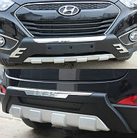 Накладки на бампера Hyundai IX35 2010-2015, фото 1