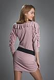 Туника женская мод 149,размер 44,46 серая, фото 2