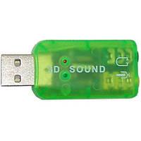 Звуковая карта USB 2.0, 5.1, OEM