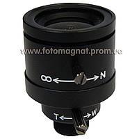 Объектив для камеры видеонаблюдения  4-9 мм manual (объектив камеры)