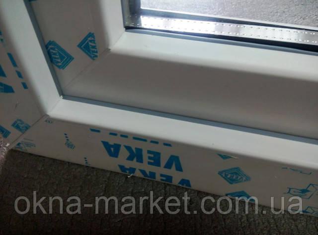 Трехстворчатое окно в профильной системе Veka цена в компании