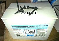 Саморез для гипсокартона шуруп по металлу 3,5х35 мм. Knauf (Германия) упаковка 1000 штук