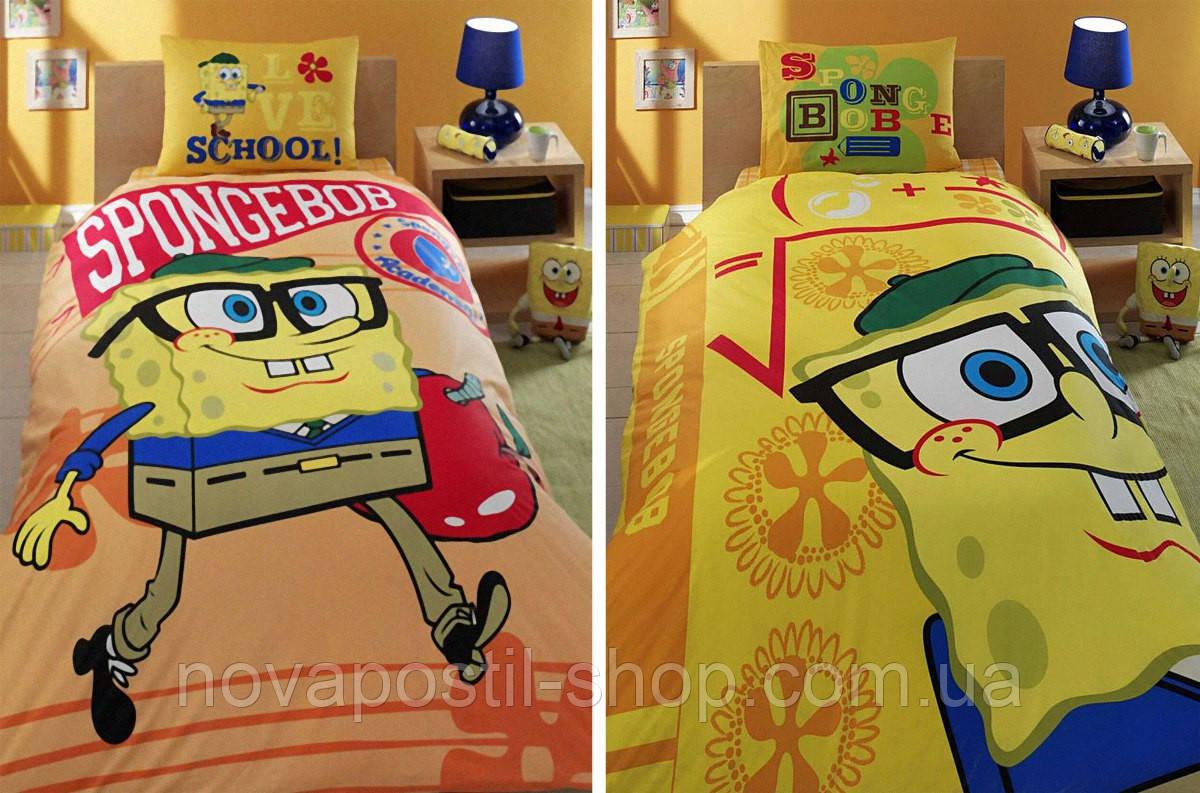 Комплект постельного белья ТАС Sponge bob academics двусторонний