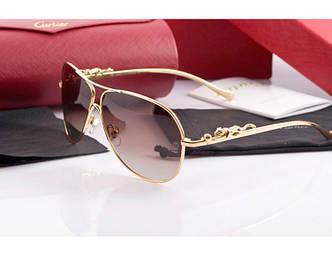 Солнцезащитные очки Cartier 205 gold SR-103