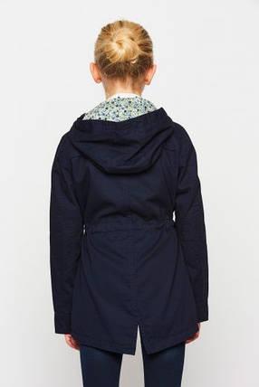Осенняя куртка-парка для девочки GLO-Story GFY-1021А, фото 2