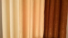 """Готовые Портьеры """"Софт Эксклюзив""""(на люверсах), шторы, фото 3"""