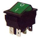 Переключатель клавишный широкий КП-47-И-220В