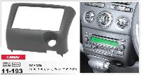 Рамка переходная Carav 11-193 Toyota Yaris, Echo, Vitz, Platz 99-05 2DIN