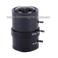 Объектив для камер видеонаблюдения 6-36 мм (объектив камеры)