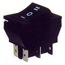Переключатель клавишный широкий КП-51-В-220В (с возвратом клавиши)