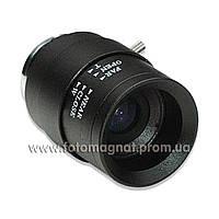 Объектив для камеры видеонаблюдения 2.8-12М manual (объектив камеры)