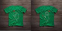 Парні футболочки ручного розпису «Лук та стріли», фото 1