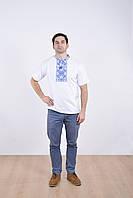 """Стильная мужская футболка вышиванка из качественного мягкого трикотажа """"Велес"""""""