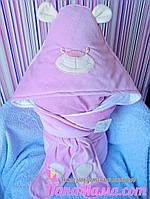 Демисезонный конверт для новорожденного Мишутка, фото 1