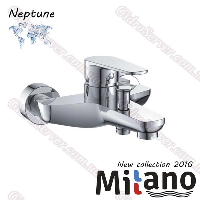 Смеситель для ванны и душаNeptune ML-900N Euro с поворотным гусаком.