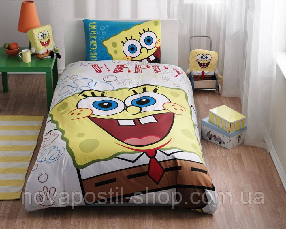 Комплект постельного белья ТАС  Disney Sponge bob happy