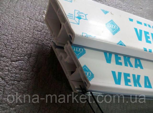 Лоджия в профильной системе Veka компания