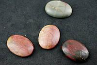 Кабошон камень яшма 30мм