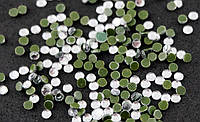 Стразы термоклеевые Стекло Серебро 3 мм (50 штук) (товар при заказе от 200 грн)