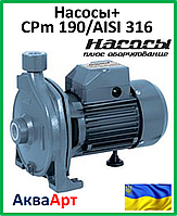 Насосы+ CPm 190/AISI316