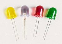 Светодиод 3мм желтый MTK2-3Y04YD-0,4cd