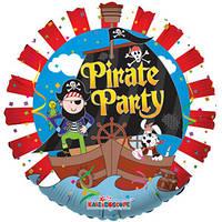 K Круг 635  Пиратская вечеринка 18/45см , арт. 19281-18