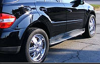 Подножки Mercedes ML 164 2005-2011