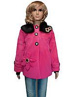 Пальто стильное 5-8 лет