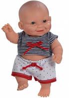 Кукла-пупс Младенец мальчик европеец морячек Paola Reina