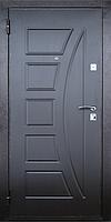 Входная металлическая дверь МДФ/МДФ Стандарт 96 (венге) 860
